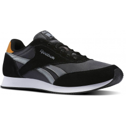 Pánska rekreačná obuv REEBOK-REEBOK ROYAL CL JOG HS-BLACK/COAL/GRY/CA