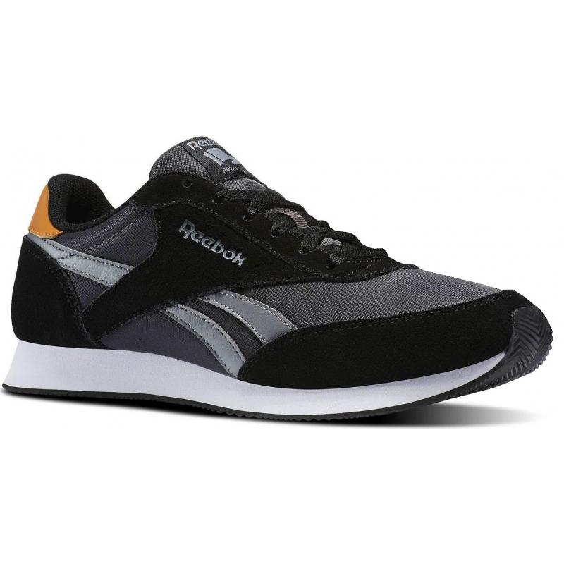 Pánska rekreačná obuv REEBOK-REEBOK ROYAL CL JOG HS-BLACK COAL GRY CA 76a110ffa6