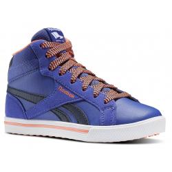 7e4e94f64 Juniorská rekreačná obuv REEBOK-REEBOK ROYAL COMP 2 NAVY/LILAC/GUAVA