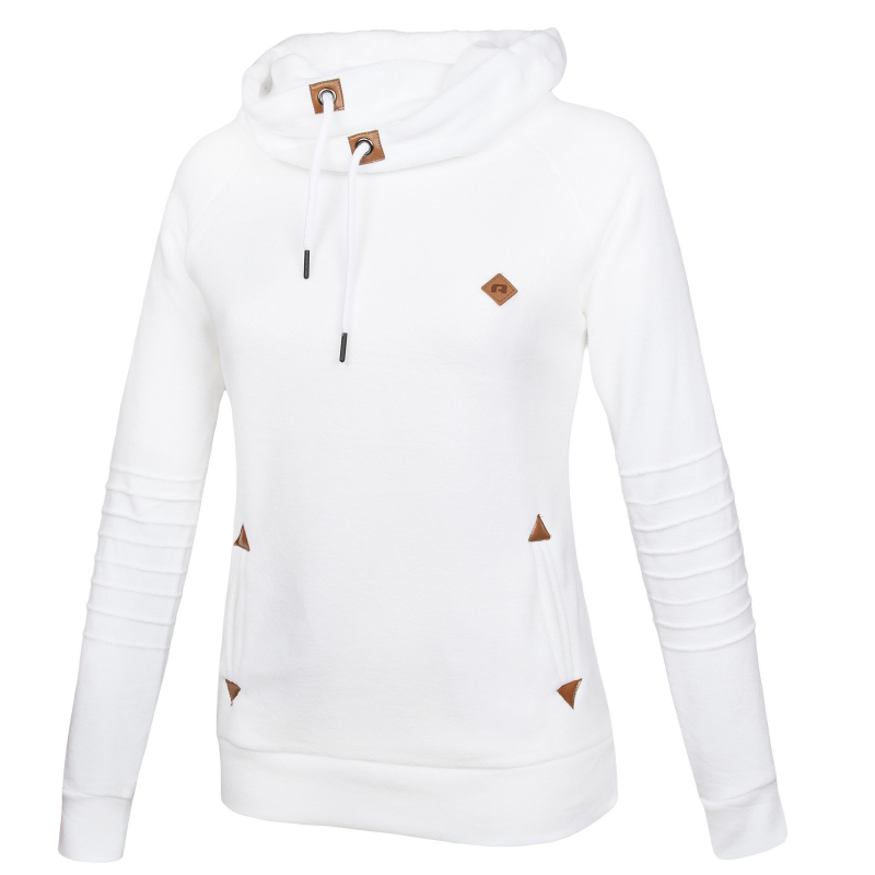 a6d171486 Dámska lyžiarska flisová mikina AUTHORITY-FARNEA white