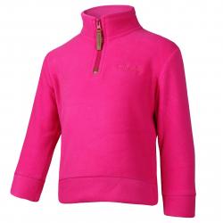 Dievčenská lyžiarska flisová mikina AUTHORITY-FELIAMA G pink
