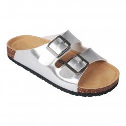Detská módna obuv COLOR KIDS-Nilaus sandals Dark Silver 983dfb796b6