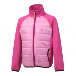 Dievčenská turistická bunda COLOR KIDS-Norse-GIRLS-Pink
