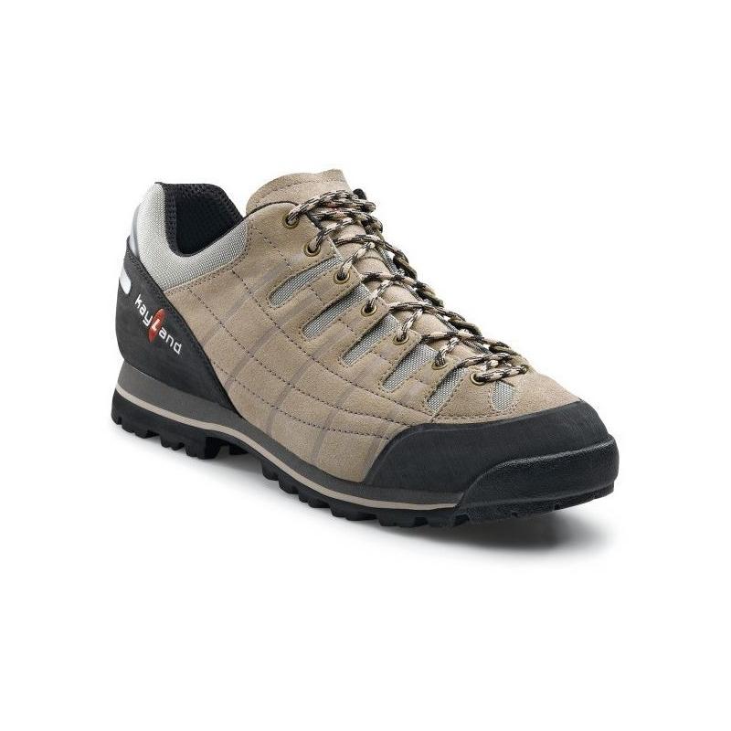 15e3d5cb6 Pánska turistická obuv nízka KAYLAND-CREST BEIGE/SILVER - Pánska obuv  značky Kayland.