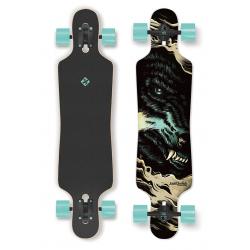 Longboard STREET SURFING-FREERIDE 39 Curve The Wolf-artis