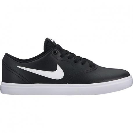 Vychádzková obuv NIKE-SB CHECK SOLARSOFT BLACK  471e7ba84f5