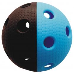 Florbalová loptička MPS TRIX čierno-modrá