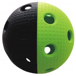 Florbalová loptička MPS TRIX čierno-zelená