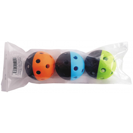 Florbalový míček MPS-TRIX Sada 3 ks