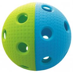 Florbalová loptička MPS TRIX zeleno-modrá