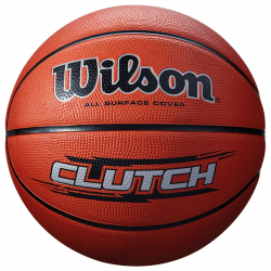 Basketbalová lopta WILSON-CLUTCH 295 BROWN veľ.7