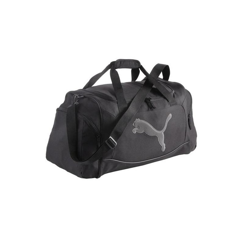 a9b9935aa19f Cestovná taška PUMA-Big Cat Sports Bag black-dark shadow -