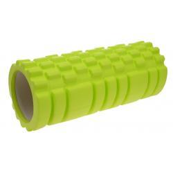 Masážny valec LIFEFIT-JOGA ROLLER A01 33x14cm, zelený