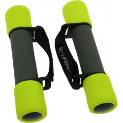 Fitness závaží set LIFEFIT-CINKA SOFT paseky 2x0,5kg, sv.zelená TRL