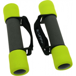 Fitness závažie set LIFEFIT-CINKA SOFT PASEK 2x0,5kg,sv.zelena TRL