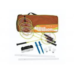 Badmintonová raketa WILSON-BADMINTON FAMILY SET 4 PCS