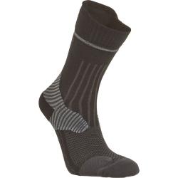 Pánske bežecké ponožky SEGER Running Mid Trail Black