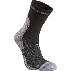 Pánske bežecké ponožky SEGER Running Mid Distance Black