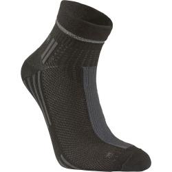 Pánske bežecké ponožky SEGER Running Thin Multi Low Cut Black