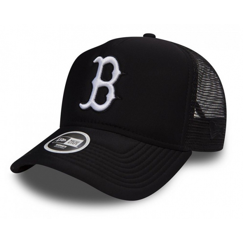 660ae9f5e Dámska šiltovka NEW ERA-SP18 940 AF TRUCKER ESSENTIAL BOSTON RED SOX BLACK/W