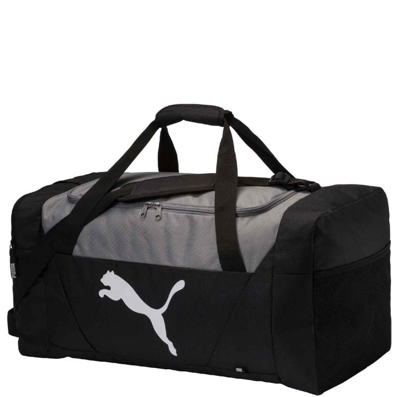 12eee121a6 Pánska cestovná taška PUMA-Fundamentals Sports Bag M Puma Black - Cestovná  taška značky Puma