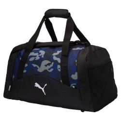 Pánska cestovná taška PUMA-Fund. Sports Bag Graphic M Blue Depths-C