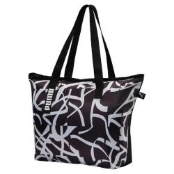 Dámska taška cez rameno PUMA-Core Active Shopper Puma Black-Puma Whit