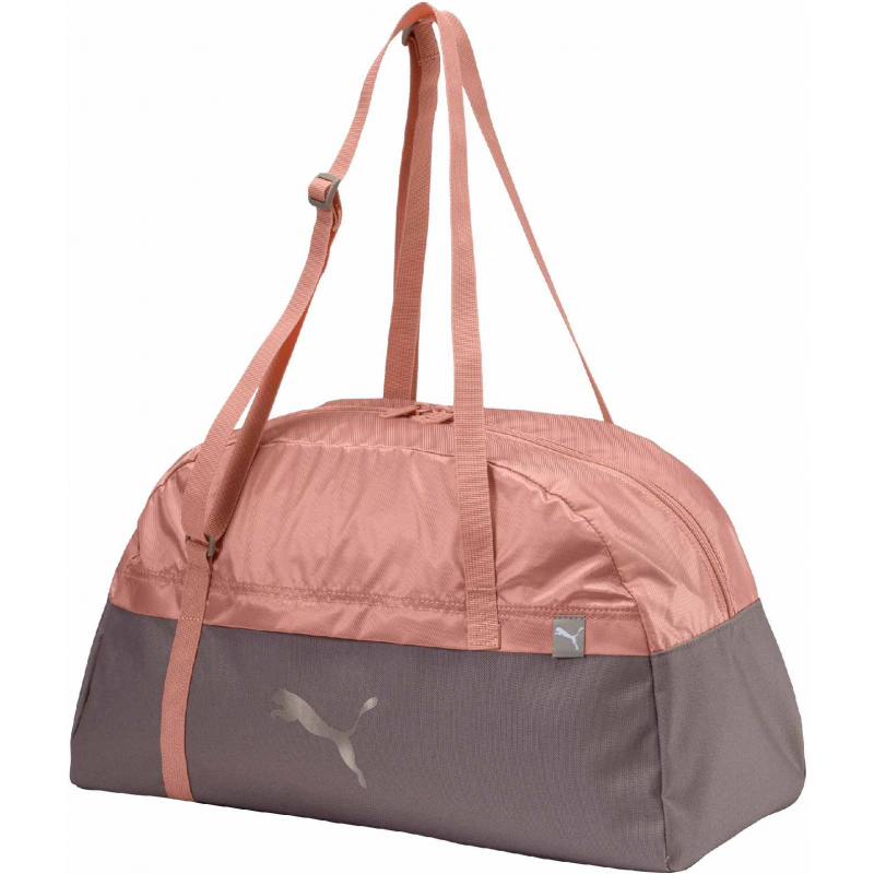 3ac0c2c34e Dámska taška cez rameno PUMA-Core Active Sportsbag M EP Rock Ridge-Pe -