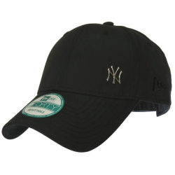 Šiltovka NEW ERA-940 MLB FLAWLESS LOGO NEW YORK YANKEES BLACK NOS