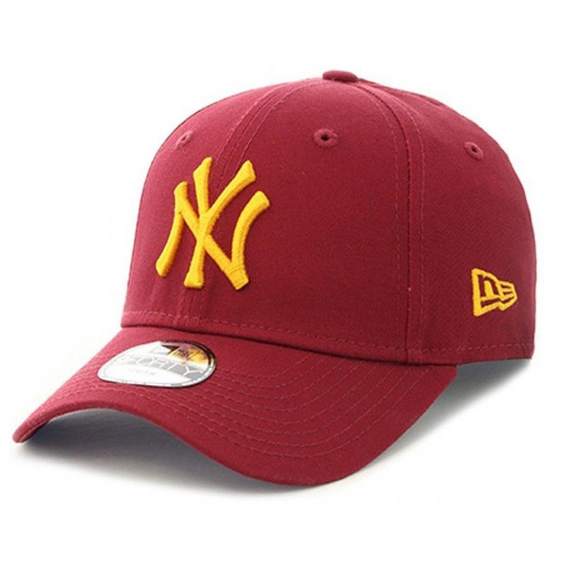 3ae766677 Šiltovka NEW ERA-SP18 940 LEAGUE ESSENTIAL NEW YORK YANKEES RED/GOLD -  Detská