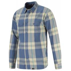 Pánska turistická košeľa s dlhým rukávom BERG OUTDOOR-CHUKCHI-MEN-Blue