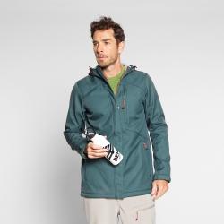 Pánska turistická softshellová bunda BERG OUTDOOR-NAGALAND-MEN-Green