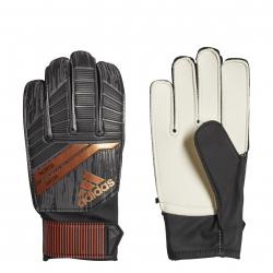 Futbalové brankárske rukavice ADIDAS-ACE JUNIOR REAL BLACK/SOLAR RED