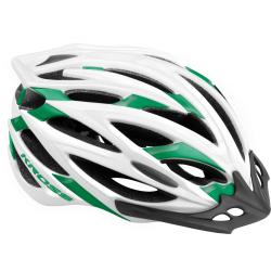 Cyklistická prilba KROSS-HELMET BRIZO GREEN/WHITE L