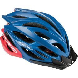Cyklistická prilba KROSS-HELMET STORMO BLUE M