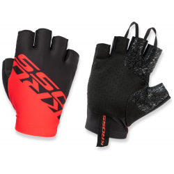 Cyklistické rukavice KROSS-CYCLING GLOVES RACE SHORT 2.0 RED L