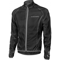 Cyklistická bunda KROSS-WATERPROOF JACKET black