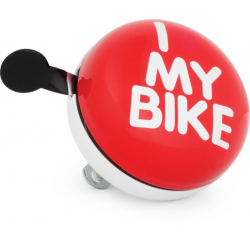Zvonček na bicykel KROSS-RETRO BELL XXL GONG 80MM RDWH