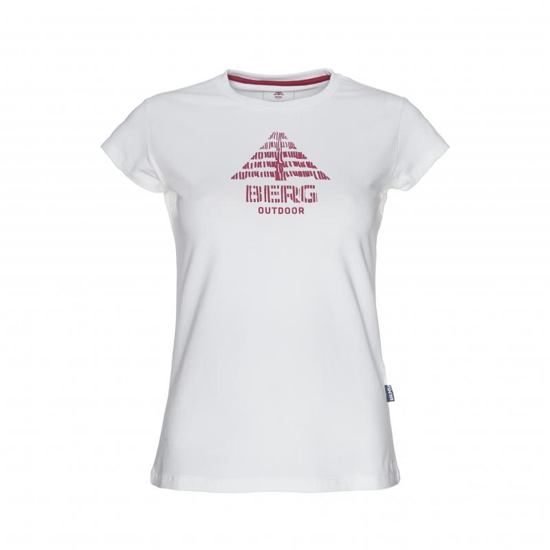 3c45b0375856 Dámske turistické tričko s krátkym rukáv BERG OUTDOOR-ZIMBRO-WOMEN-BRIGHT  WHITE -