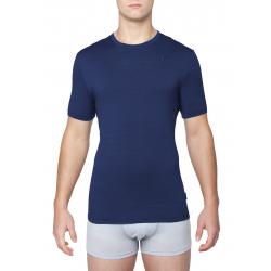 Pánske tréningové tričko s krátkym rukáv THERMOWAVE-MERINO-Life-Men-Shirt SS-Dark Sea