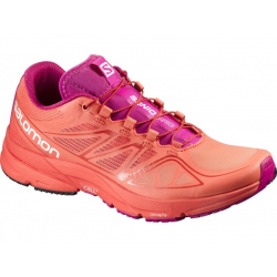 Dámska bežecká obuv SALOMON-Sonic Pro W Orange/Pink