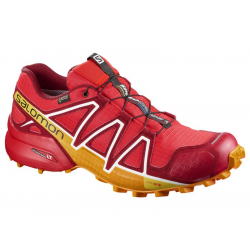 Pánska trailová obuv SALOMON-SPEEDCROSS 4 GTX FIERY RED/Red Dal