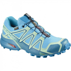 Dámska trailová obuv SALOMON-SPEEDCROSS 4 GTX W Aquarius/Beach