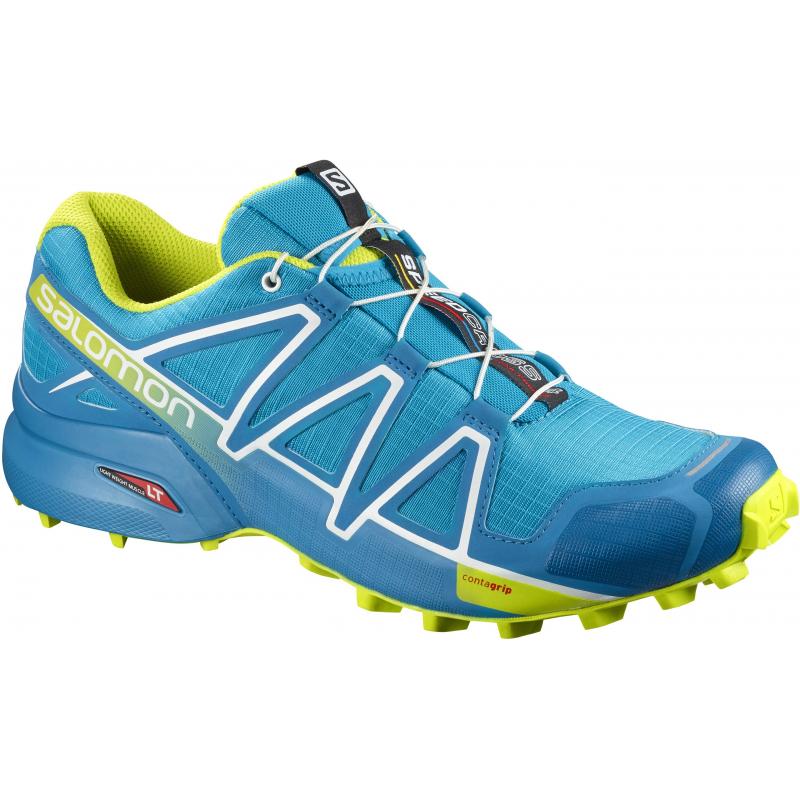 7260155c68fa Pánska trailová obuv SALOMON-SPEEDCROSS 4 Hawaiian Acid Lime Wh - Pánska  trailová