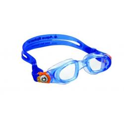 Detské plavecké okuliare AQUA SPHERE MOBY KID clear lens-blue/orange