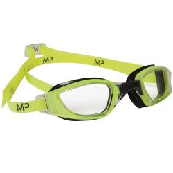 Plavecké okuliare MP XCEED clear lens-yellow black