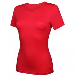 Dámske tréningové tričko s krátkym rukáv THERMOWAVE-MERINO-Life-Women-Shirt SS-Berry