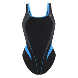 Dámske plavecké jednodielne plavky AQUA SPHERE LITA-black royalblue