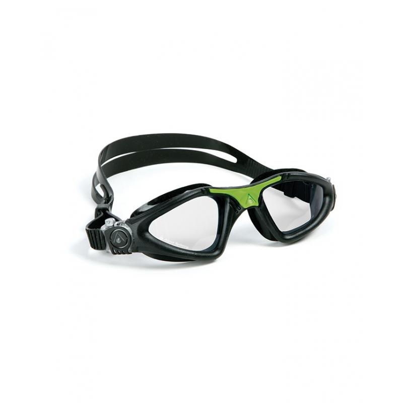 Plavecké okuliare AQUA SPHERE KAYENNE clear lens-black green - Plavecké  okuliare značky Aqua 97559289b20