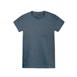 Pánske tričko s krátkym rukávom VOLCANO-T-LYFT-MEN-Grey dark